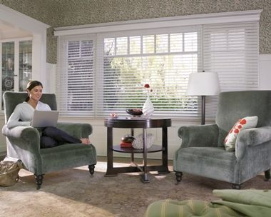 All About Faux Wood Blinds Large Windows Living Room Blinds For Large Windows Picture Windows Living Room