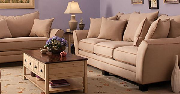 Briarwood Contemporary Microfiber Living Room Collection Design Tips Ideas Raymour And Flanigan Furn Living Room Collections Mattress Furniture Furniture