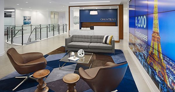The State Of The Art Executive Office For OpenText Canada