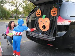 Trunk or Treat Games , Each car have a small game based on