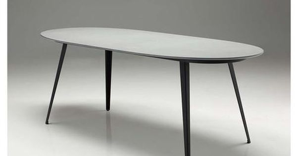 The Tulum Table Is Made From Fibre Cement Board And Surfaced In A Concrete Finish Epoxy Making It Extremely Durable Dining Table Dining Table In Kitchen Table