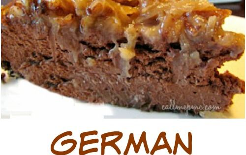 German Chocolate Cheesecake, the crowd-pleasing cake is turned into a luscious cheesecake.