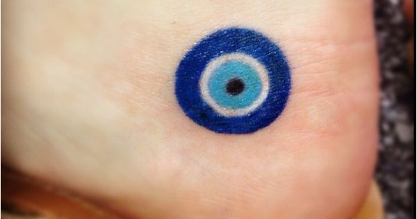 Inflicting Ink Tattoo Henna Themed Tattoos: Hamsa Or Blue Eye, A Turkish Symbol To Ward Off The Evil