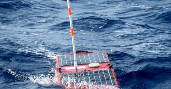 Solar Powered Robot Tracks Hurricane Isaac