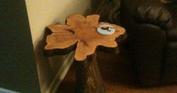Cypress knee side table! | cypress knees | Pinterest ...
