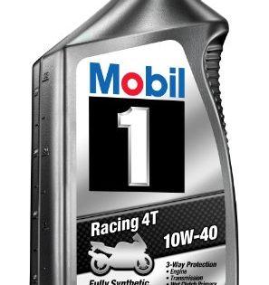 Mobil 1 98ja11 10w 40 Racing 4t Motorcycle Oil For Sport Bikes 1
