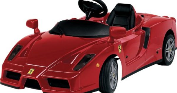 enzo ferrari 12v battery powered car power wheels for girls pinterest