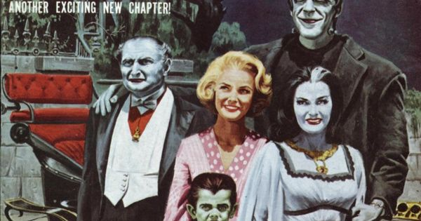 On the cover of Monster World Magazine | The Munsters ...
