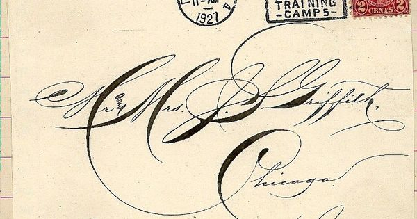 Calligraphy, letters... the way it used to be....