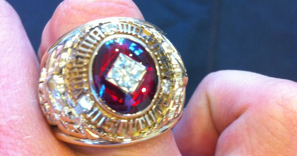 VMI Class of 2012 Ring - among the biggest (if not the ...