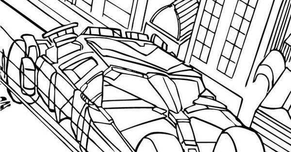batman begins coloring pages - photo#42