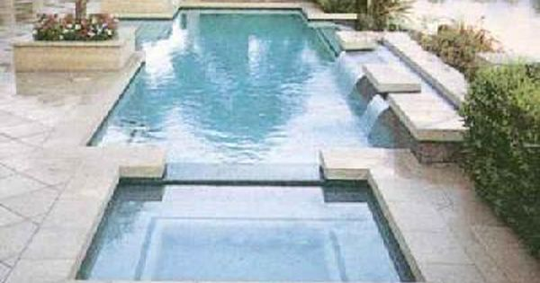 Rectangular Pool Designs With Spa poolandspacom cool pool picture roman pool u0026amp spa pool and