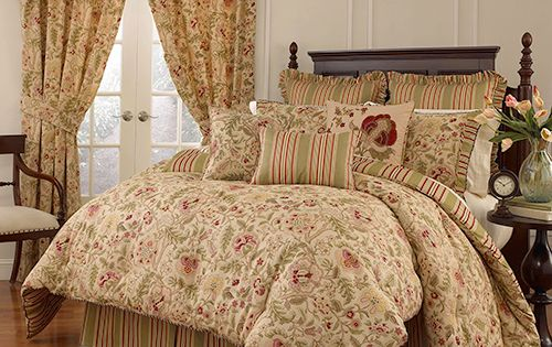 Waverly Imperial Dress Antique Comforter Set Comforter