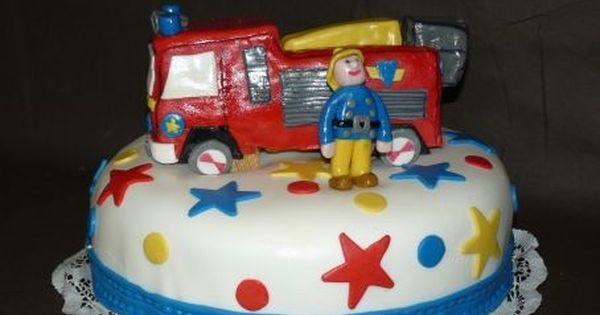 gateau d 39 anniversaire enfant sam le pompier g teaux pinterest art cakes cuisine and cake. Black Bedroom Furniture Sets. Home Design Ideas