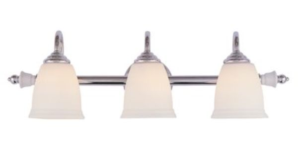 Portfolio 3 Light Polished Chrome Bathroom Vanity Light Lowe S 64 96 Vanity Lighting Bel Air Lighting Bathroom Vanity Lighting