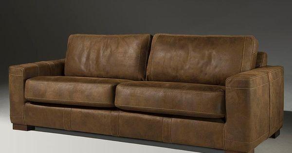 Zetel ruw leer google zoeken living room pinterest living rooms and room - Zetel leer metaal ...