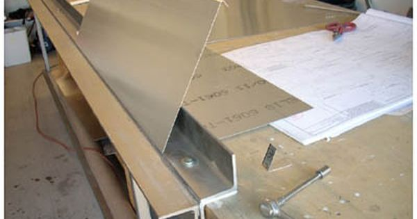 Eaa Experimenter Dave S Sheet Metal Bending Brake Metal Bending Sheet Metal Metal Bending Tools