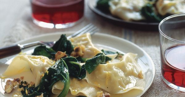 Delicata Squash Ravioli..Made this last night. The wonton wrappers tasted just like