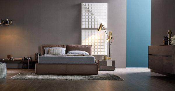 Dunkle Möbel bringen in jedes Schlafzimmer eine gemütliche