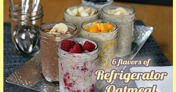 Refrigated Oatmeal- not really a freezer meal, but a make ahead meal!
