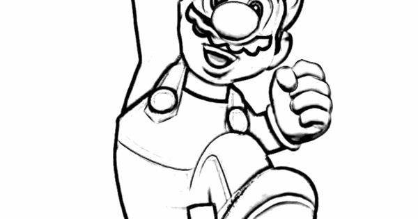 mario boo coloring pages - photo#27