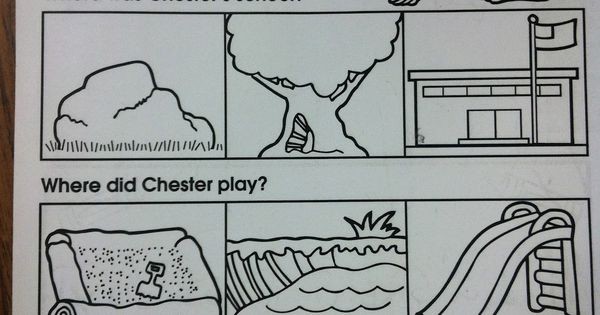 chester raccoon first day of school language arts