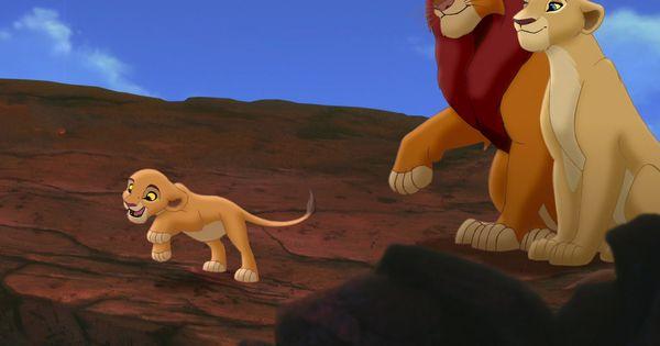 simba  u0026 nala with their daughter kiara in  u0026quot the lion king 2  simba u0026 39 s pride u0026quot