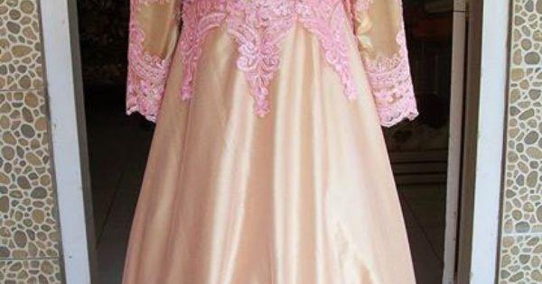 Gaun Pesta Remaja Pinkgold Baju Pesta Pinterest