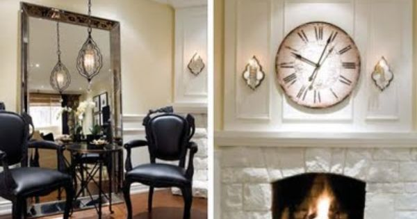 April 2011 Home Living Room Inspiration Fireplace