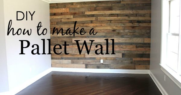 Project Nursery - How to Make a Pallet Wall nursery design inspiration