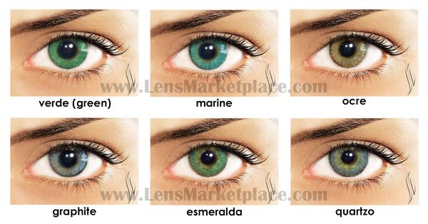 Natural Colored Contacts Pinterest