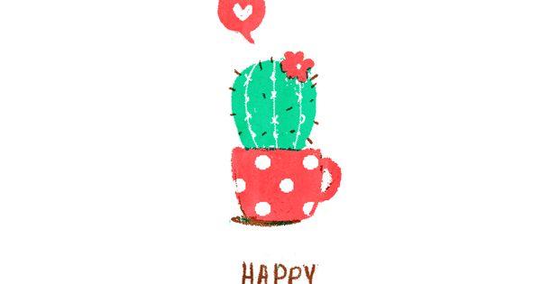 Happy Birthday Cactus Succelent Birthday Wishes