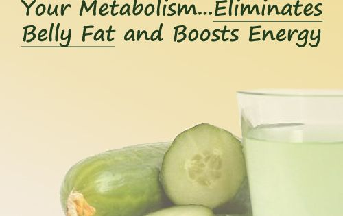 Drinking cucumber juice is one of the easiest ways to get rid