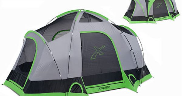 Gander mountain xscape designs vista 6 6 person dome for Affordable furniture greenbriar