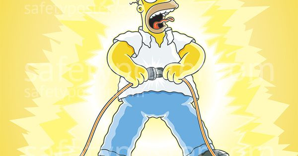 simpsons take care when using electricity s1120