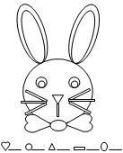 Rabbit Shape Count Worksheet Activity From Making Learning Fun