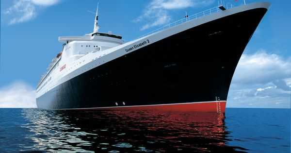 QE2 Cruise Liner. Most Beautiful Ship In The World. I Worked On Her And Was Able To Travel The ...
