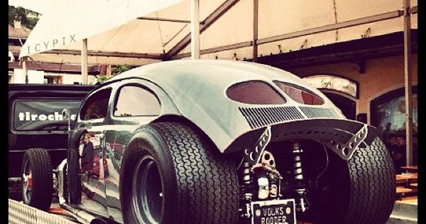 VW beetle dragster