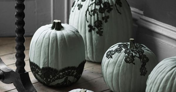 Pumpkin Decorating Ideas - How to Decorate Pumpkins - Country Living. Fancy