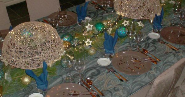 Kersttafel christmas tables pinterest - Dining barokke ...