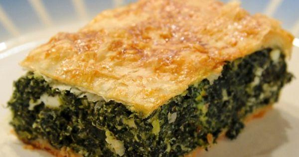 Elli's Spanakopita | Recipe | Spanakopita, Martha stewart recipes and ...