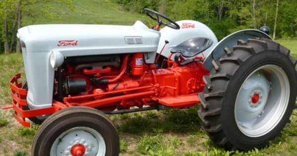 1953 Ford Golden Jubilee Tractor Http Www Outbid Com Auctions