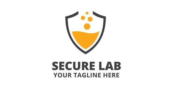 Secure Lab Logo Template – security