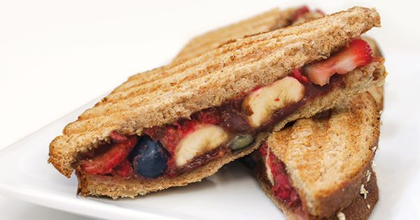 Panini recipes, Paninis and Fruit on Pinterest