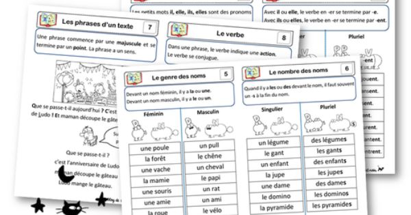 Les le ons de grammaire ressources coles pinterest - Grille de salaire professeur des ecoles ...