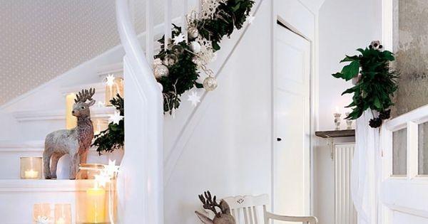 D coration de no l int rieur 30 id es inspirantes pour for Guirlande decoration interieur