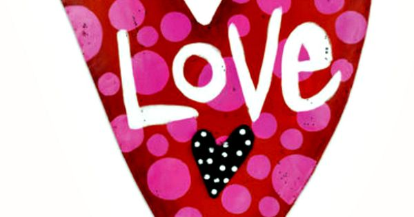 Love Heart Door Hanger From Silvestri Screenings By Artist
