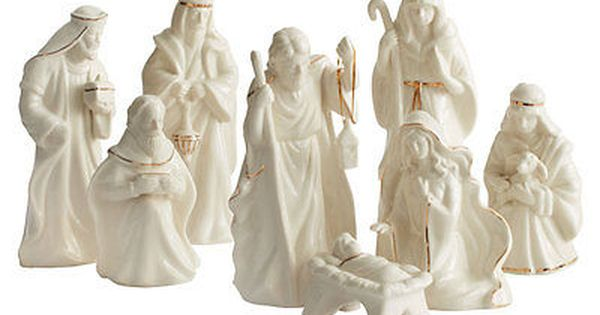 Mikasa Holiday Splendor 8 Piece Nativity Set Nativity Set Nativity Sets For Sale Mikasa