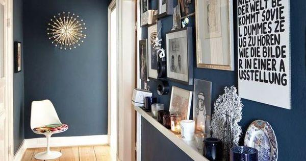 Id es d co pi ce par pi ce couleurs de mur couloir long et bijoux - Idee decoratie interieur corridor ...