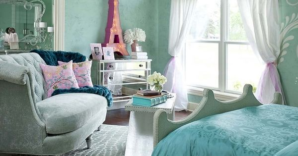 Girls Heaven with Wall Paint Colors for Teen Girls Bedrooms: Interior Design